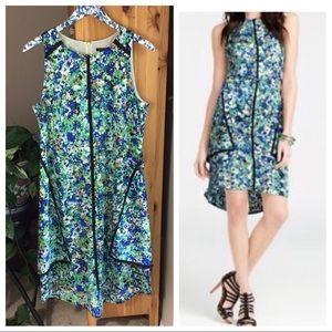 Ann Taylor Garden Floral A-Line Dress, Size 12